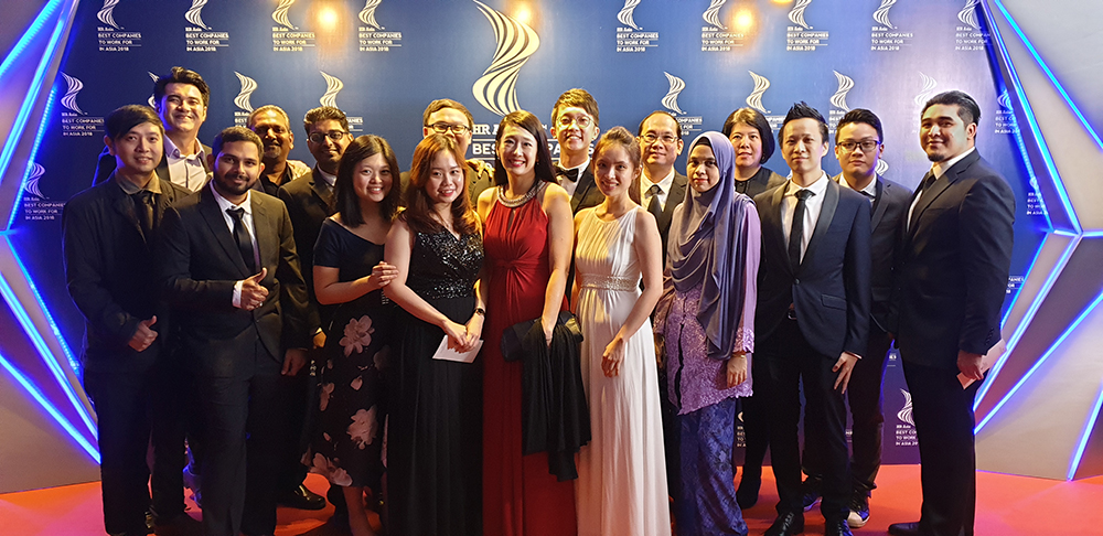 Experian Malaysia wins HR Asia Best Companies to Work for in Asia for the third year running